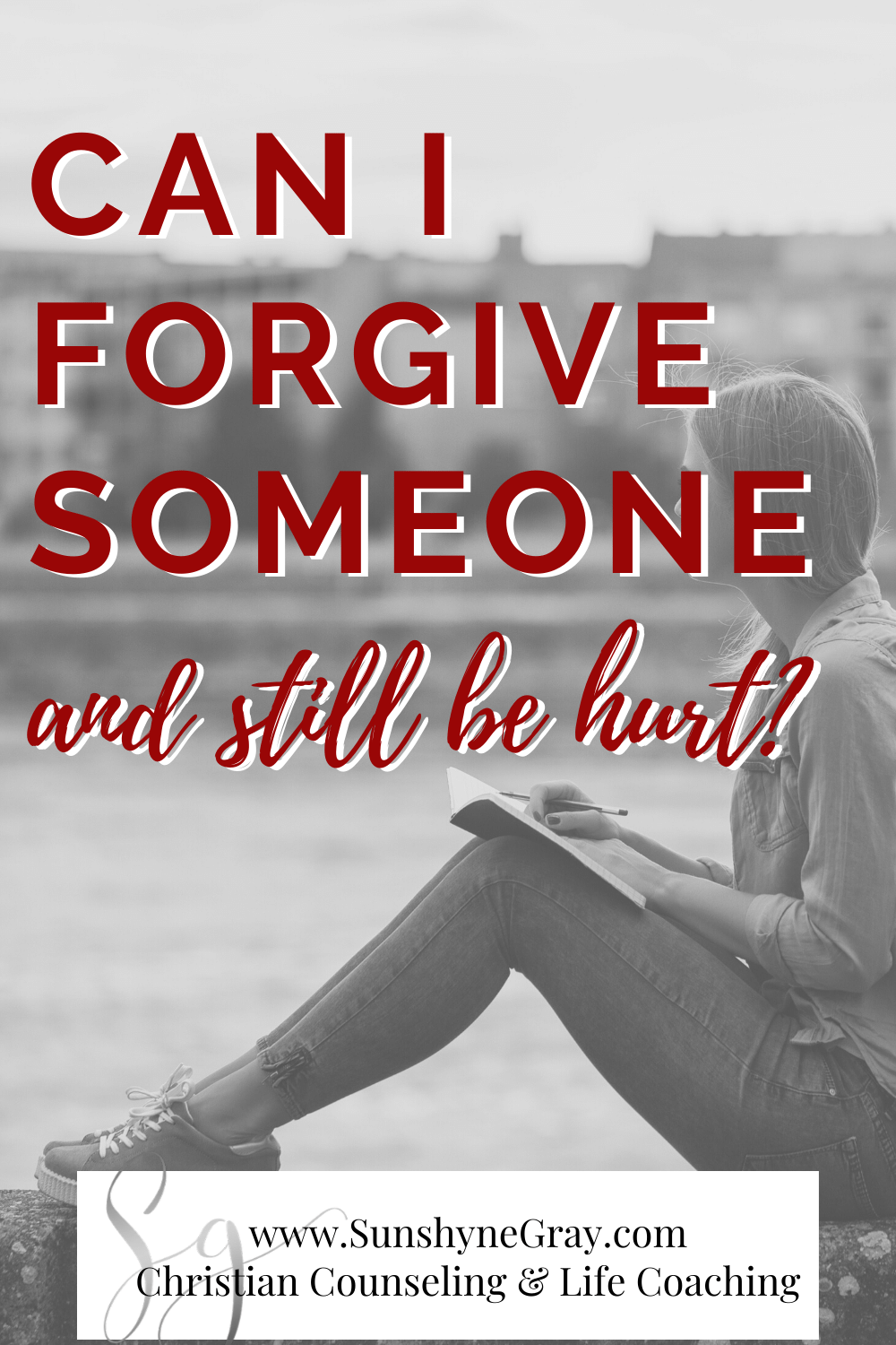 We often wonder if we can forgive someone and still be hurt. The answer is yes! Learn how the healing process comes after forgiveness. Also, how to forgive, even when it's hard. #forgiveness #mentalhealth #wellness #christiancounseling