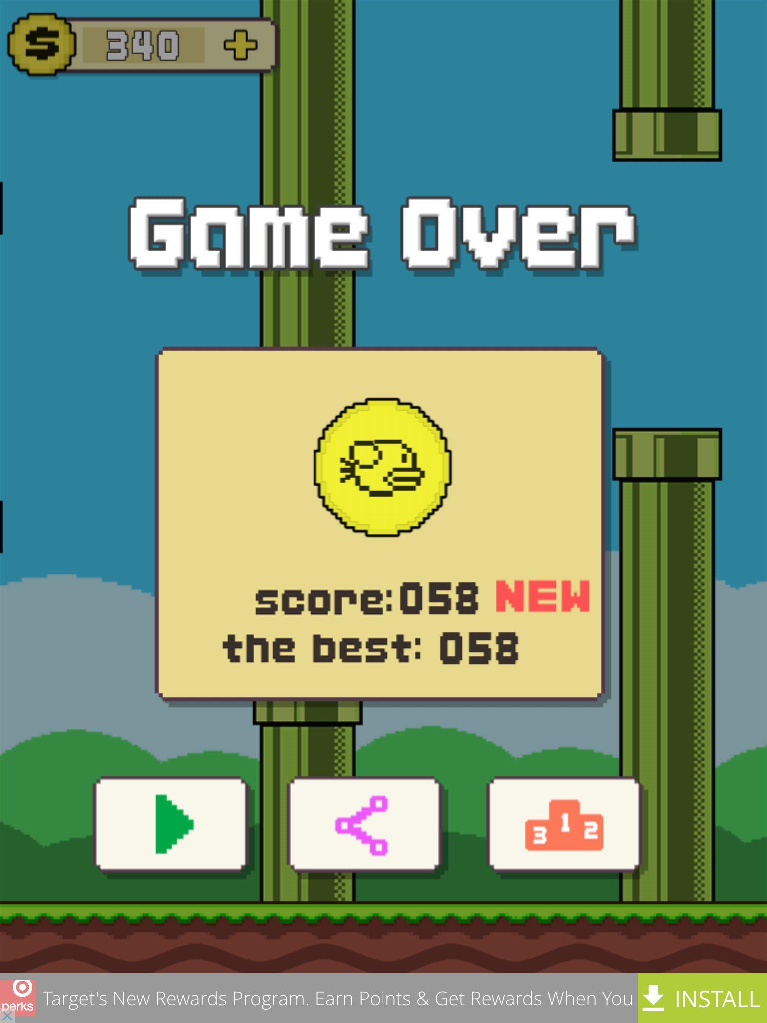 I got my new score