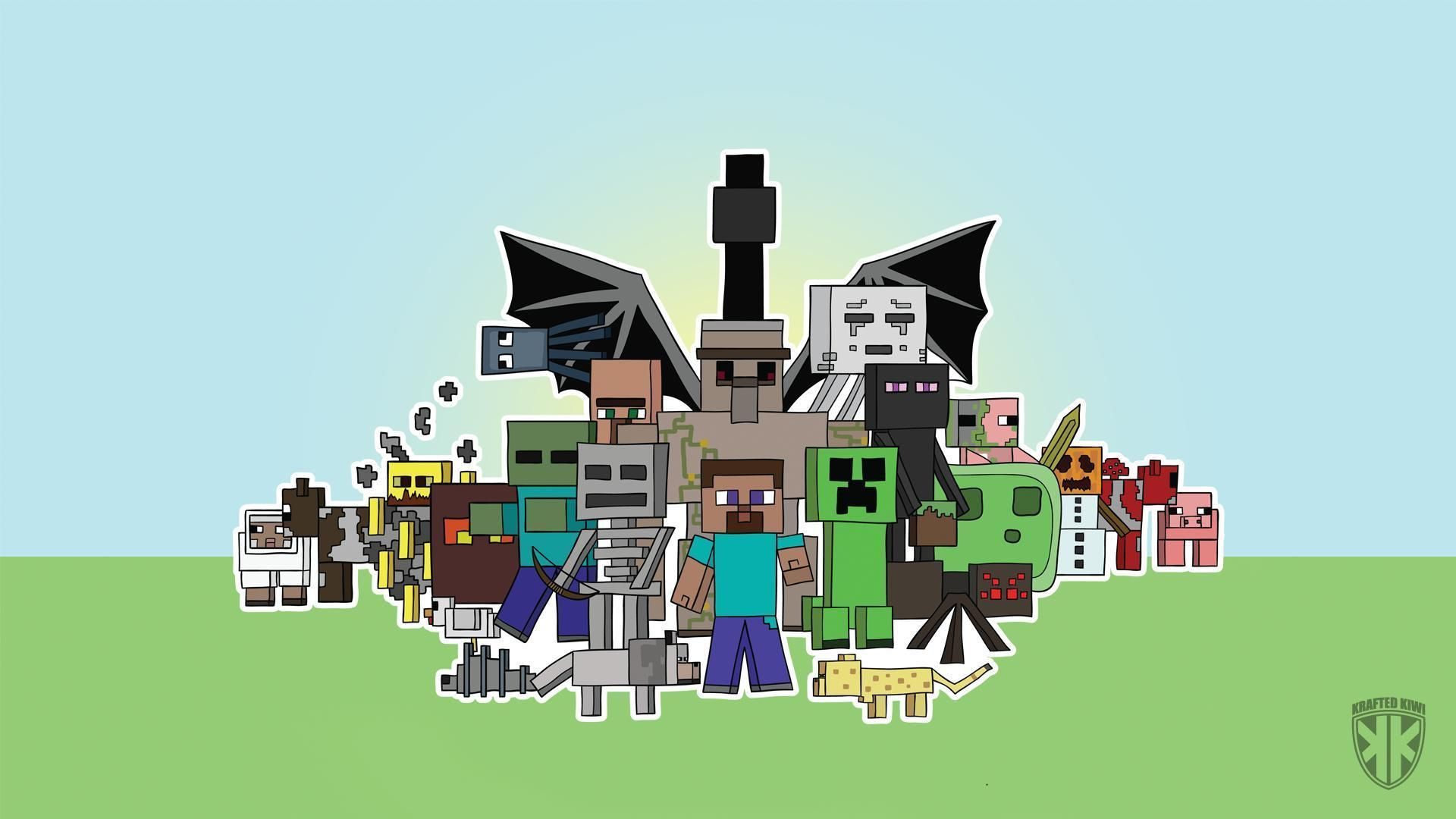 Minecraft Backgrounds Group