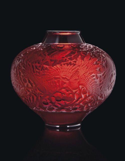 Aras Vase No. 919  Lalique