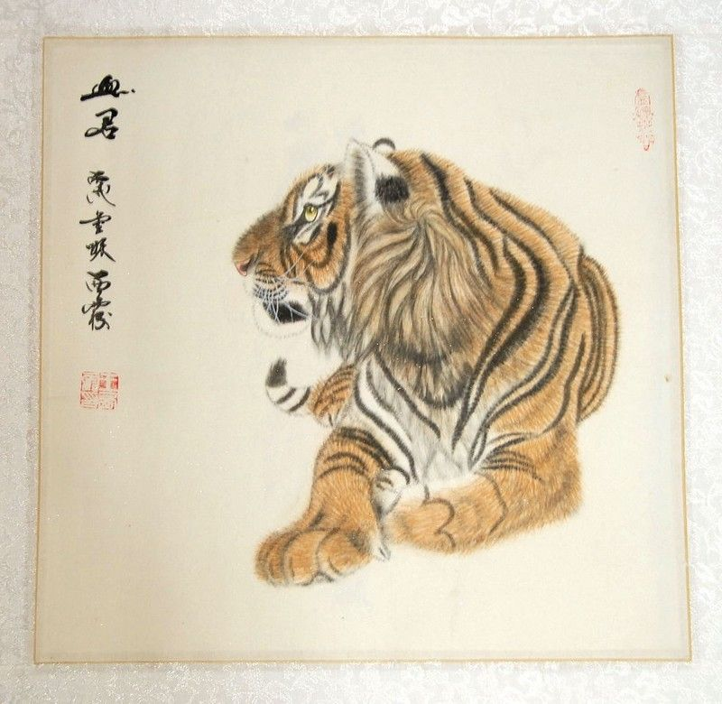 Estampes chinoises (36cmx36cm)