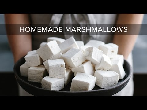 These healthy (or healthier) homemade marshmallows use honey or maple syrup instead of corn syrup and grass-fed gelatin. They're paleo marshmallows! #healthymarshmallows These healthy (or healthier) homemade marshmallows use honey or maple syrup instead of corn syrup and grass-fed gelatin. They're paleo marshmallows! #healthymarshmallows These healthy (or healthier) homemade marshmallows use honey or maple syrup instead of corn syrup and grass-fed gelatin. They're paleo marshmallows! #healthymar #healthymarshmallows