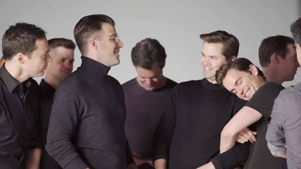 Boys In The Band American Actors Andrew Rannells Matt Bomer