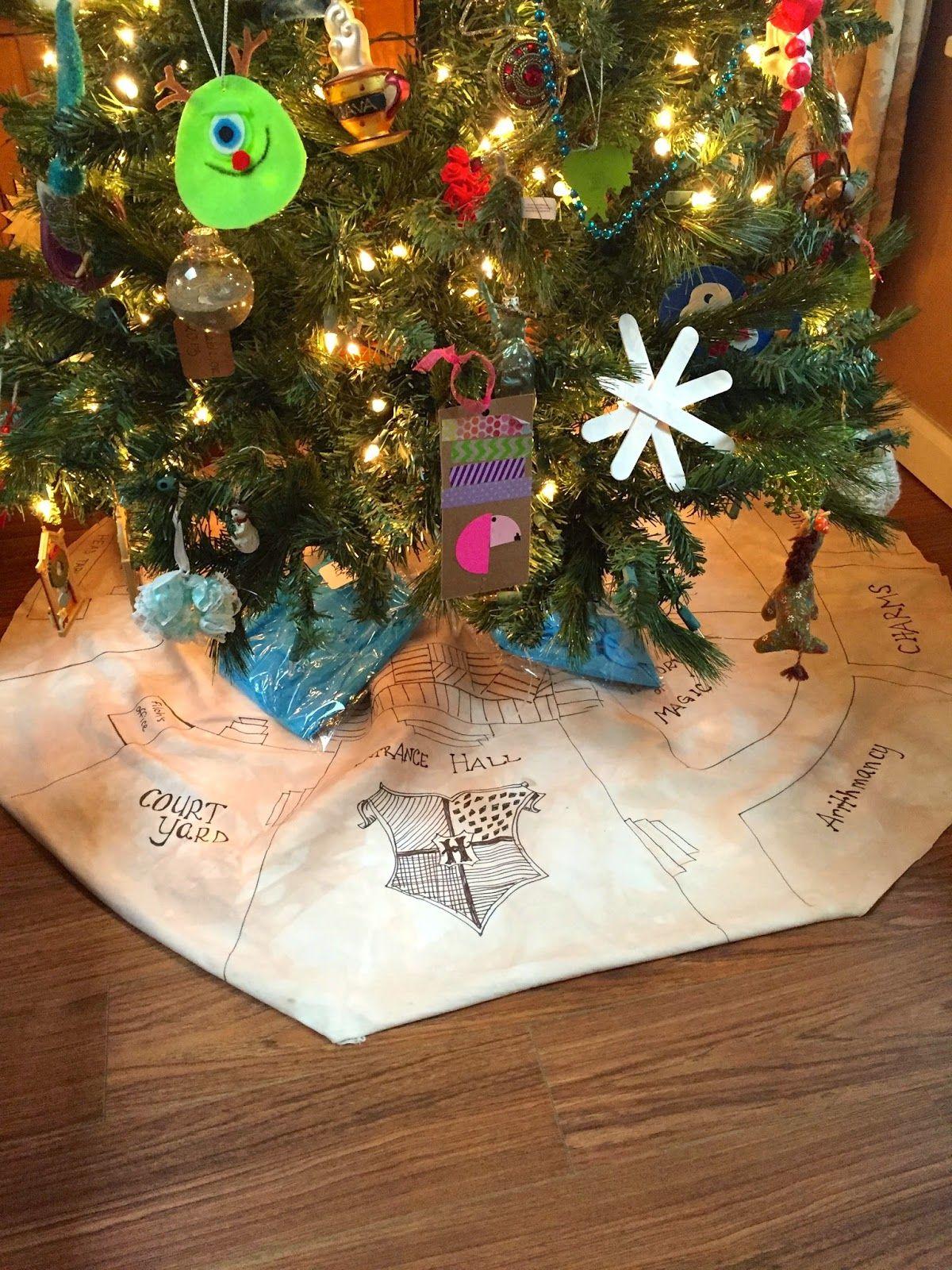 37+ Harry potter christmas tree skirt inspirations