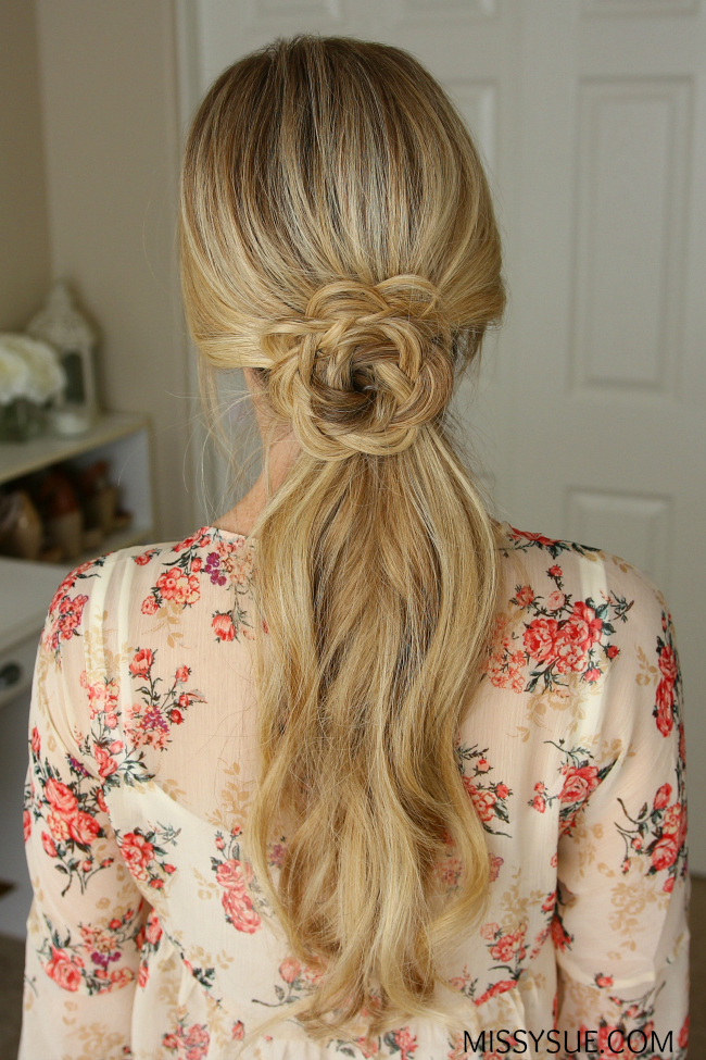 15 easy prom wedding hairstyles for medium to long hair ...