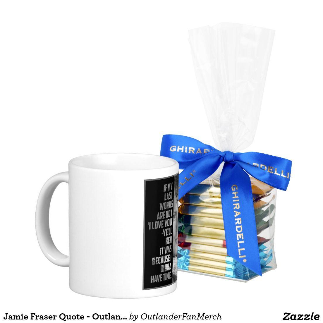 Jamie Fraser Quote - Outlander Classic White Coffee Mug