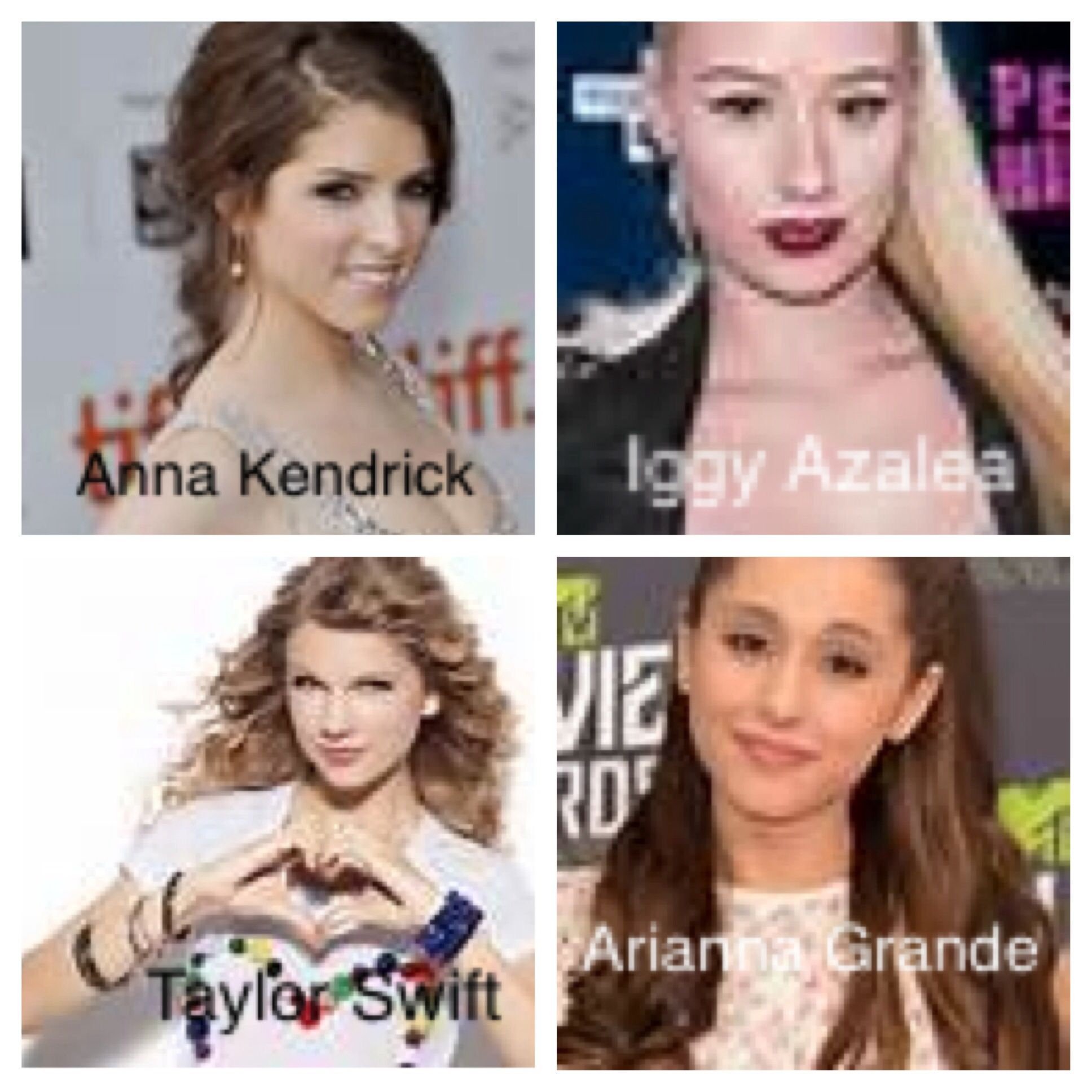 Alright Be Honest Which Celebrity On This List Am I Most Like For Me I Think Im Anna Kendrick But I Wanna Know Ur Opinions So If U Do Comment Comment Y