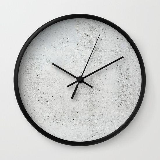 Concrete Wall Clock Diy Clock Wall Wall Clock Wall Clock Design