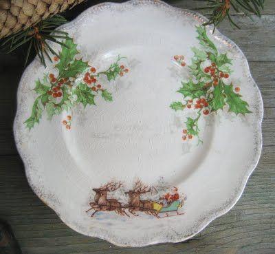 52 Flea Red Tulips Christmas Tableware Christmas Dinnerware Christmas Table Decorations