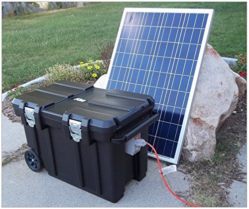 By Dyers Eve I Had Been Thinking Of Constructing A Portable Solar Generator For Some Time I Rememb Portable Solar Generator 100 Watt Solar Panel Solar Panels