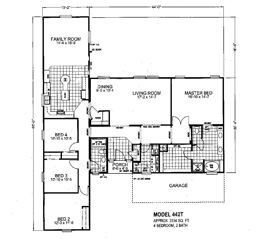Mobile Home Plans And Prices triple wide mobile home floor plans | modular home floor plans