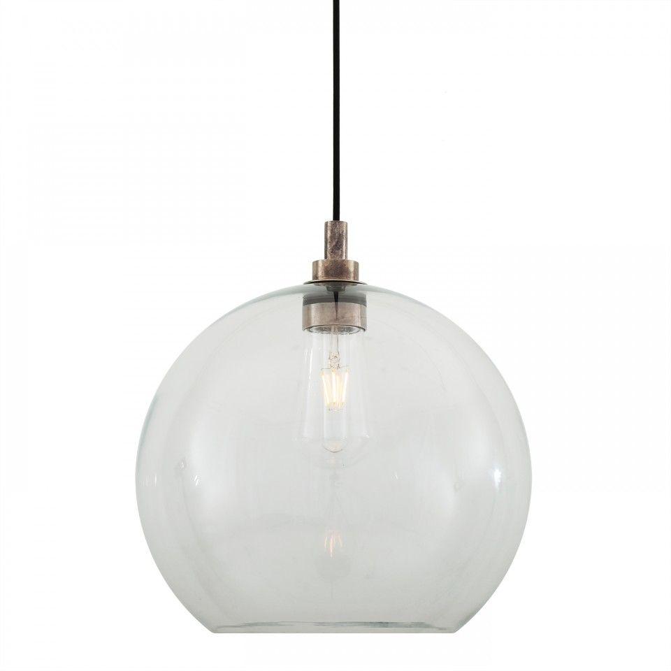 Leith Pendant Light - Mullan Lighting | Glass pendant ...