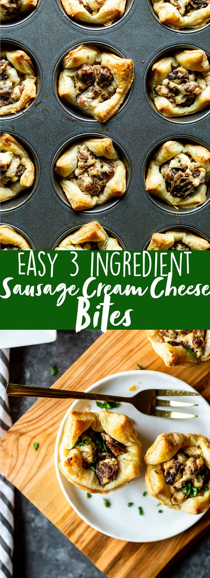 Sausage Cream Cheese Bites