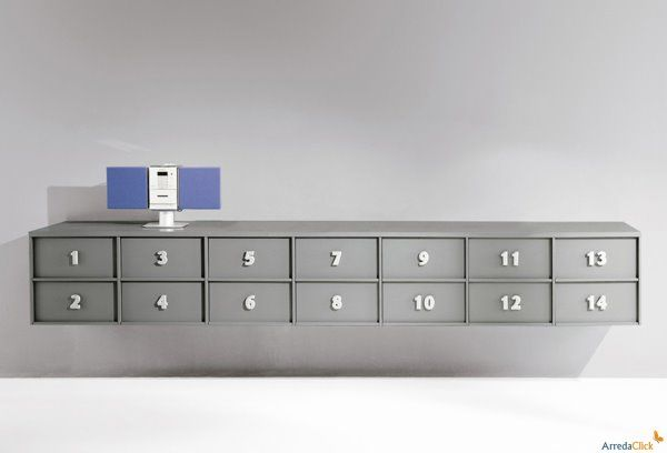 Mobile contenitore per ufficio Toolbox