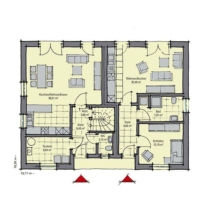 Haus mit Einliegerwohnung Haus mit einliegerwohnung