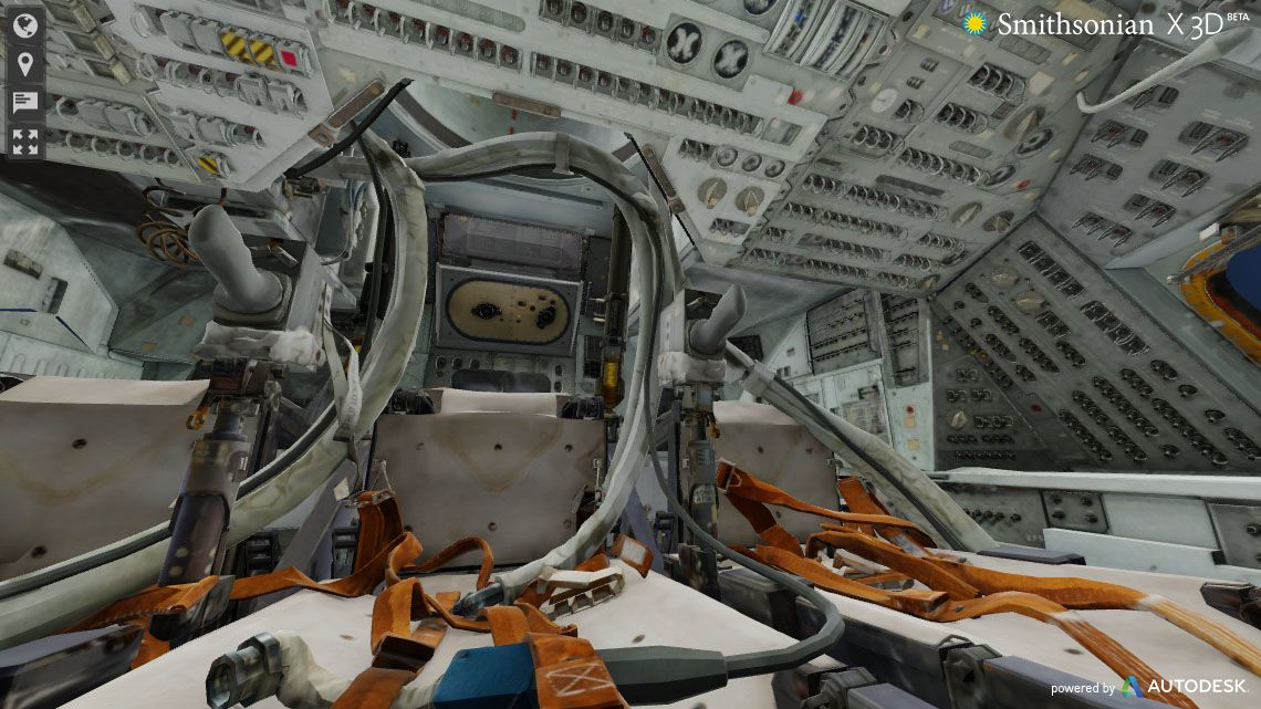 inside apollo space capsule - photo #6