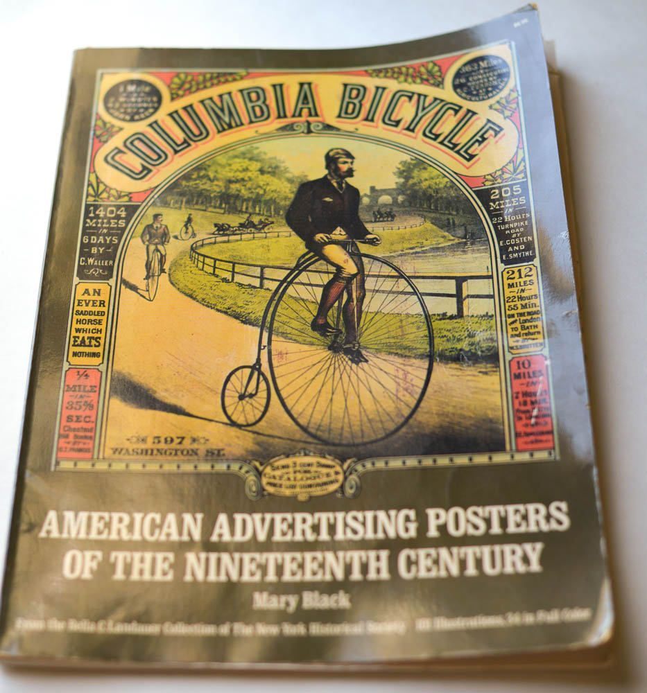 Vintage Poster Book, Advertising Poster Collection by Mary ...