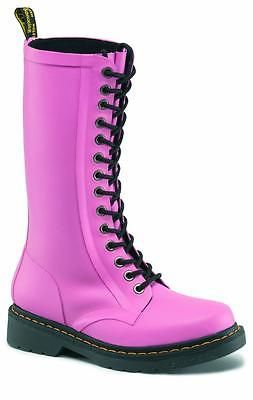Dr Martens 14-Hole Wellies Shower Pink 14823650 Original Doc   Shoes ... 597897995129