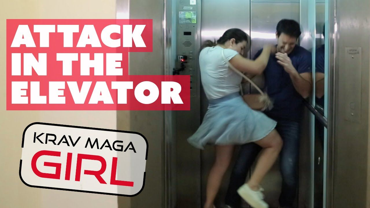 Krav Maga Girl Attack In The Elevator How To Defend Yourself