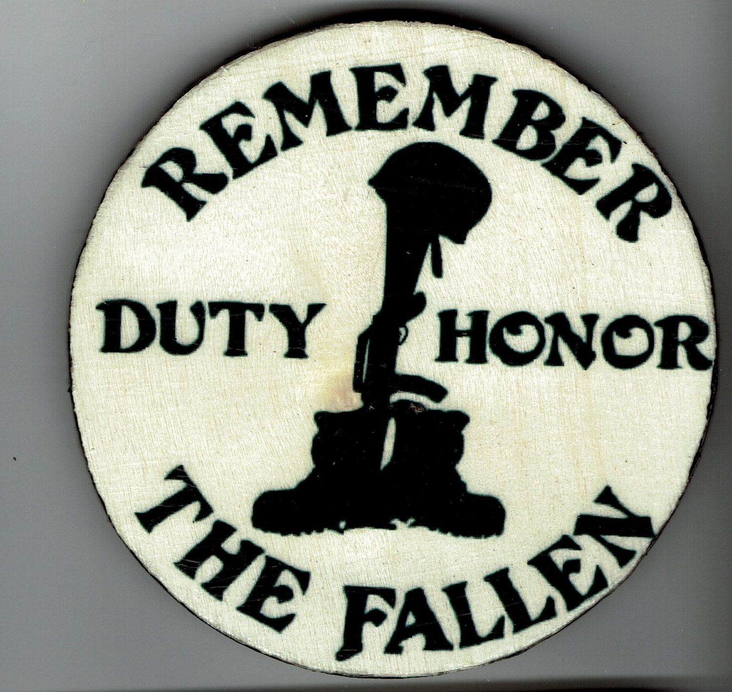 Fallen Soldier Quotes Remember The Fallen Refrigerator Magnetcortesecreations On