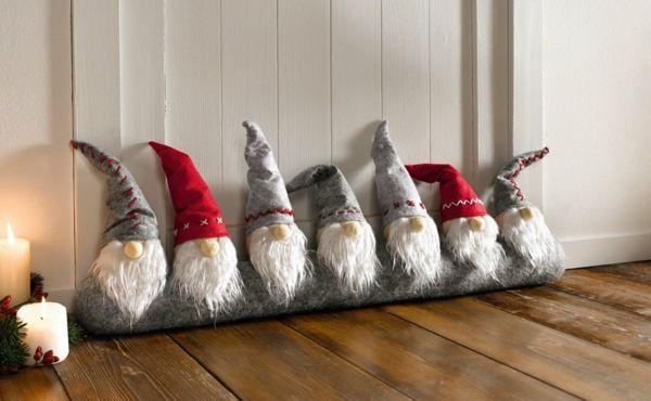 Bastelidee Für Weihnachten Moderne Weihnachtsdeko Flur Deko