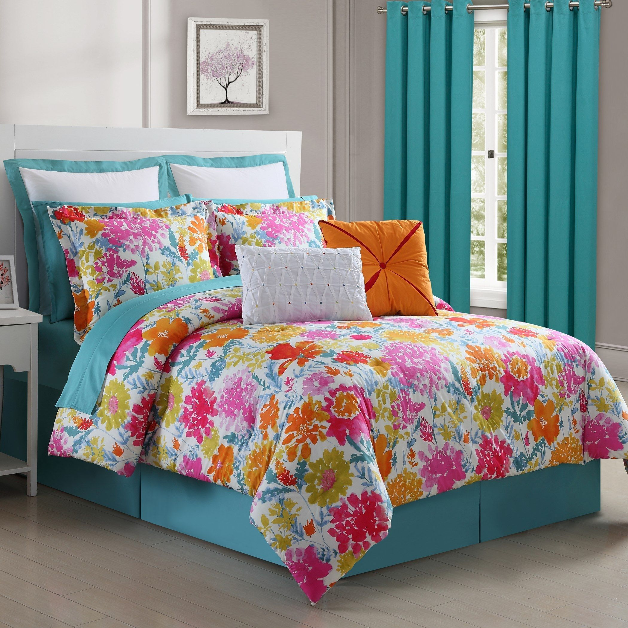 Pin On Colorful Teen Bedroom Decor
