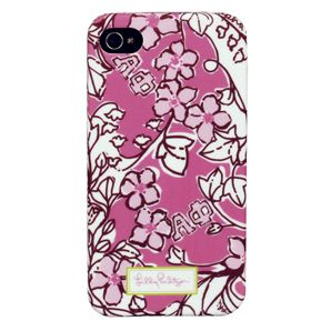 Lilly Pulitzer #AlphaPhi iPhone Case