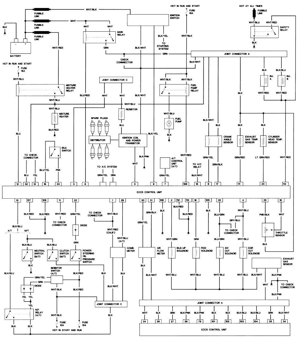 D21 Wiring Diagram In 2020 Nissan Repair Guide Electrical Problems