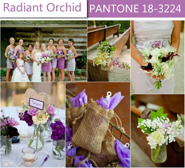 Top 10 Wedding Color Trends for Spring 2014 | Purple wedding, Orchid ...