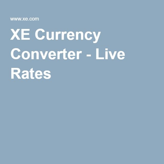 Xe Currency Converter Live Rates Travel Nyc S