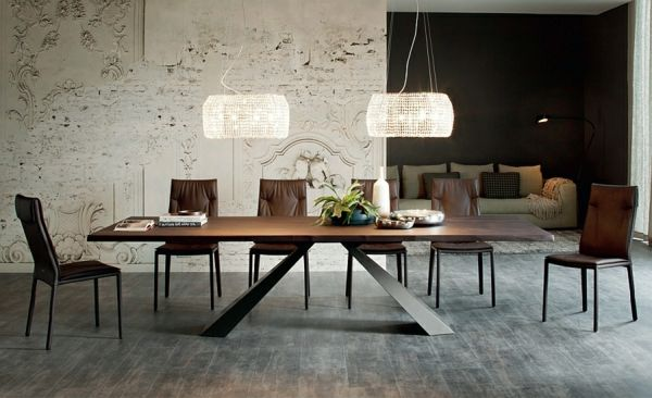 Moderne Esstische mit Stühlen - Designer Lösungen aus Massivholz