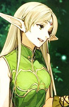 Deedlit Anime Elf Character Art Elf Drawings