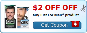 graphic about Just for Men Printable Coupon identify $2 OFF any Particularly For Men® materials Printable Discount coupons for