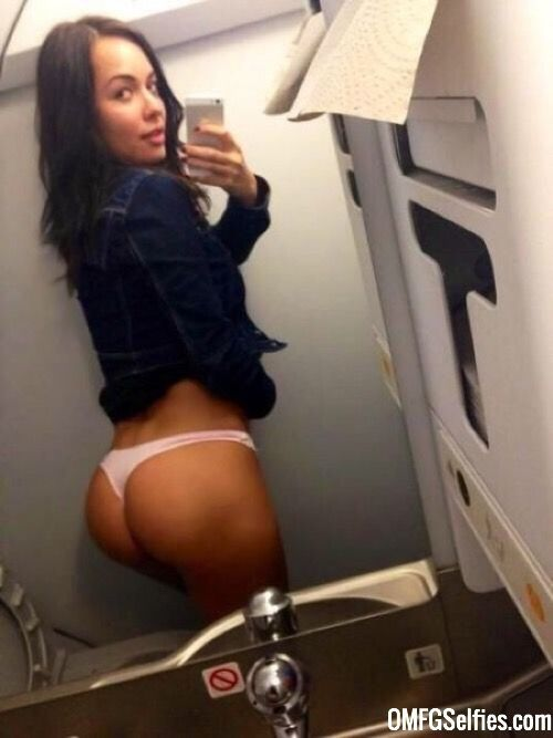 Big Phat Ass In An Airplane