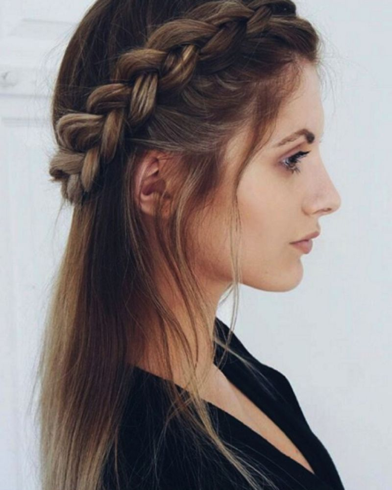 11 beautiful plait hairstyles for your wedding day  Beautiful