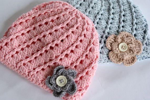 Newborn Hat Crochet Baby Crochet Hat Baby Girl Hat Crochet Hat