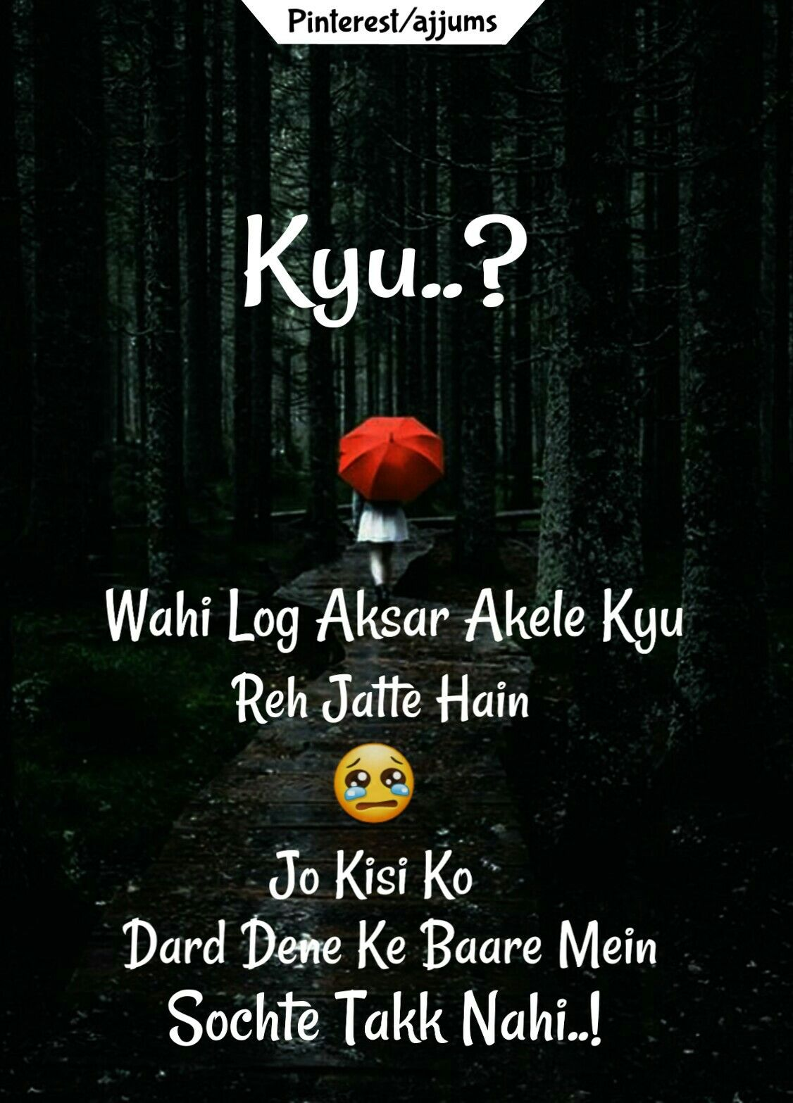 True Sad Qutoes in Hindi #SadQuotes #TureLines #ajjums