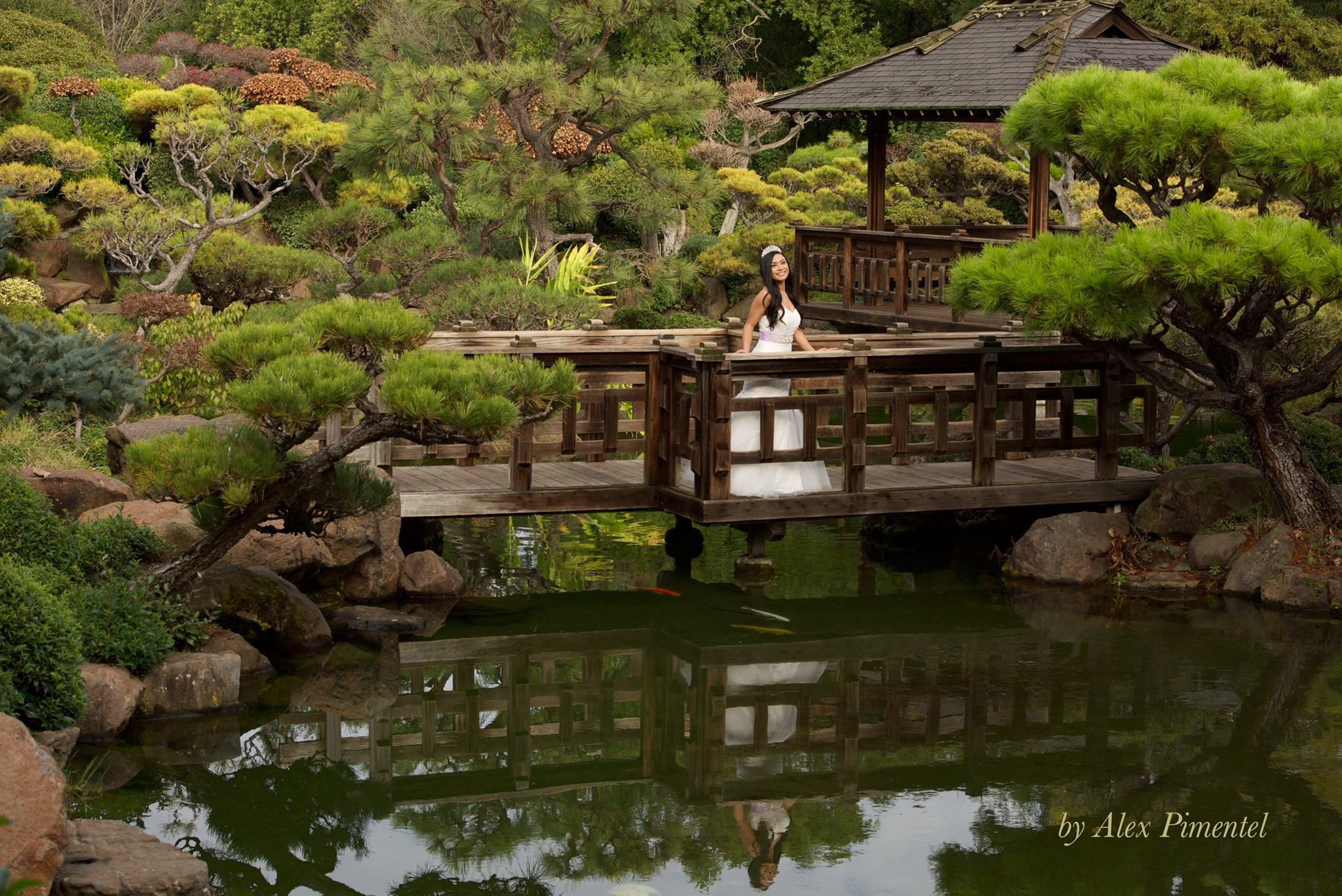 Japanese Garden   Alex Pimentel Quinceañera Photography   Bay Area ...