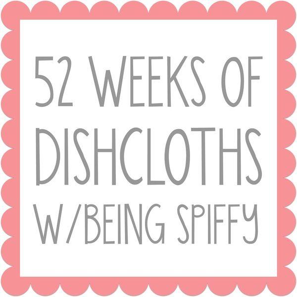 Bubblegirl Crochet Dishcloth | Pequeños y Cocinas