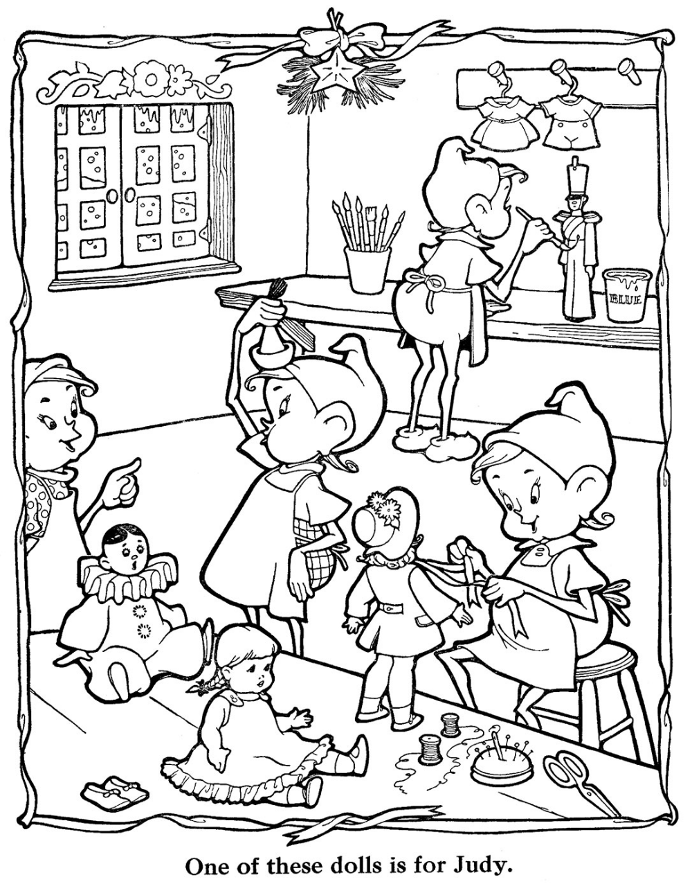 Countdown to Christmas - 8 Days | Coloriage noel ...