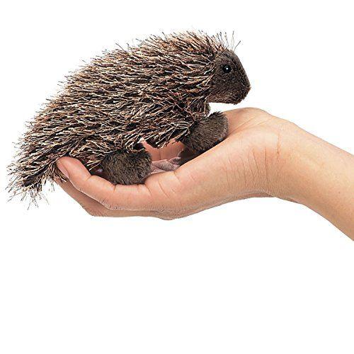 Folkmanis Mini Porcupine Finger Puppet Folkmanis