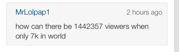 This is by far the funniest YouTube comment ever. How has this person figured out how to use a computer?!