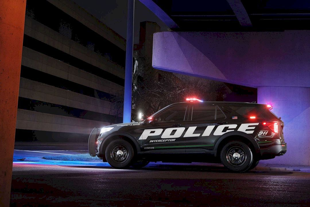 The All New 2020 Ford Police Interceptor Utility The First Ever Pursuit Rated Hybrid Police Suv