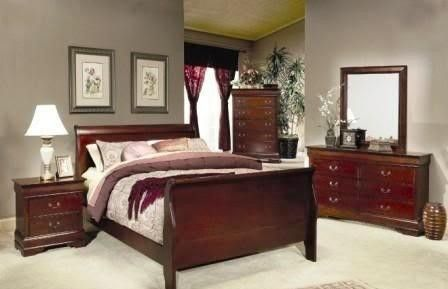 BEDROOM GROUP- QN BED, DRESSER, MIRROR, NIGHTSTAND | FOR HOMES ...