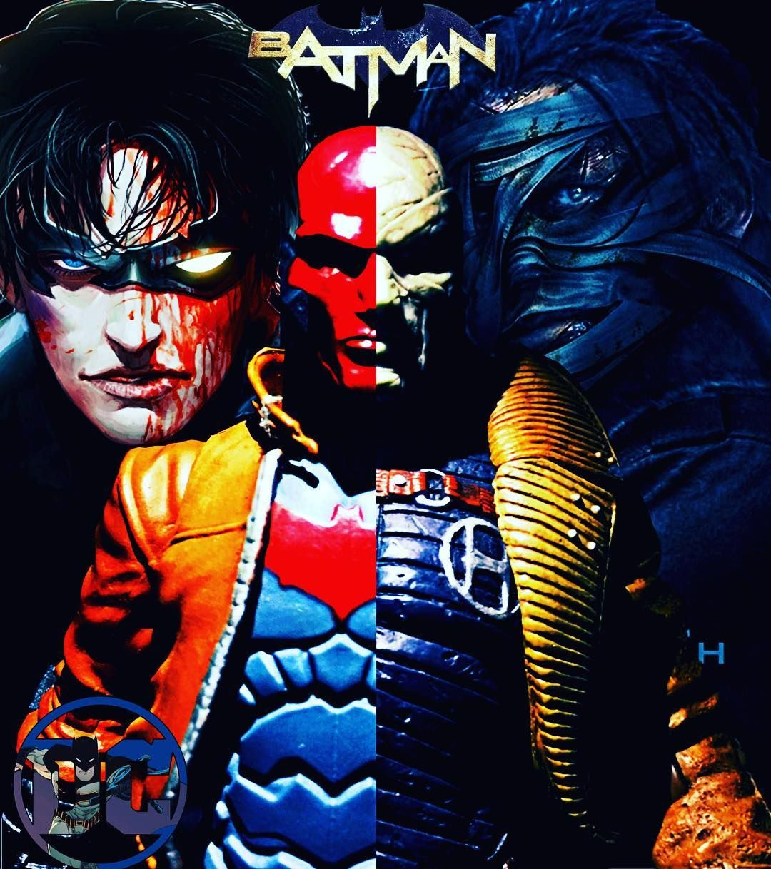 Redhood Jasontodd Vs Hush Thomaselliot Dcredhood Dchush