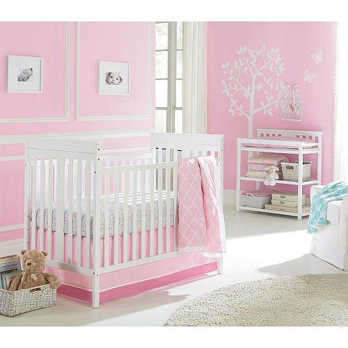 Harriet Bee Rollins 3 Piece Crib Bedding Set: Sadie & Scout 3 Piece Crib Set - Girl