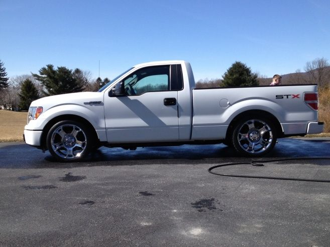White Stx Limited Wheels Lowered Rcsb F150 S Ford Trucks