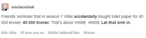Skam Vilde