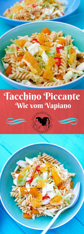 tacchino piccante von vapiano f r zu hause vegetarische gerichte pasta und vegetarisch. Black Bedroom Furniture Sets. Home Design Ideas