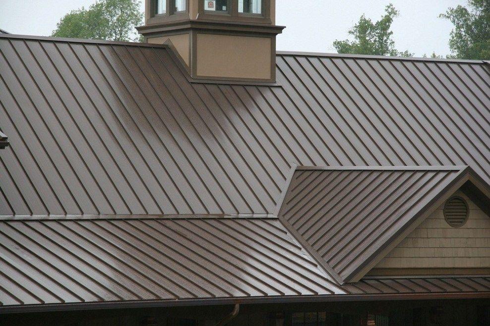 1 5 Snap Lock Bronze 4 Big Metal Roofing Georgia Metal Roof Colors Metal Roof Roof Colors